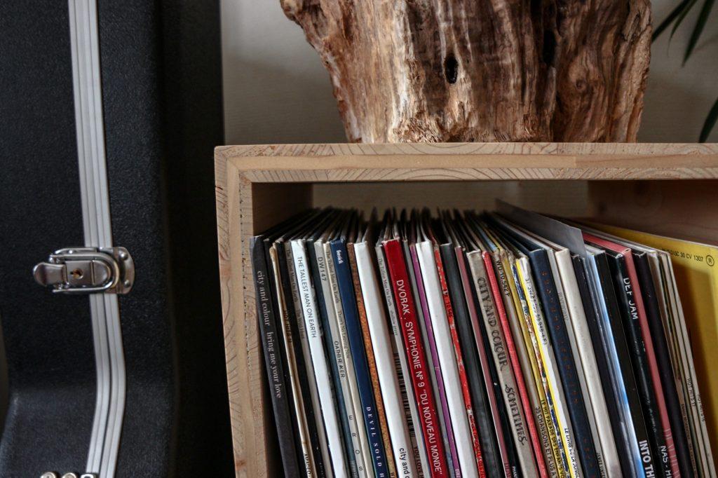 Cubes vinyles