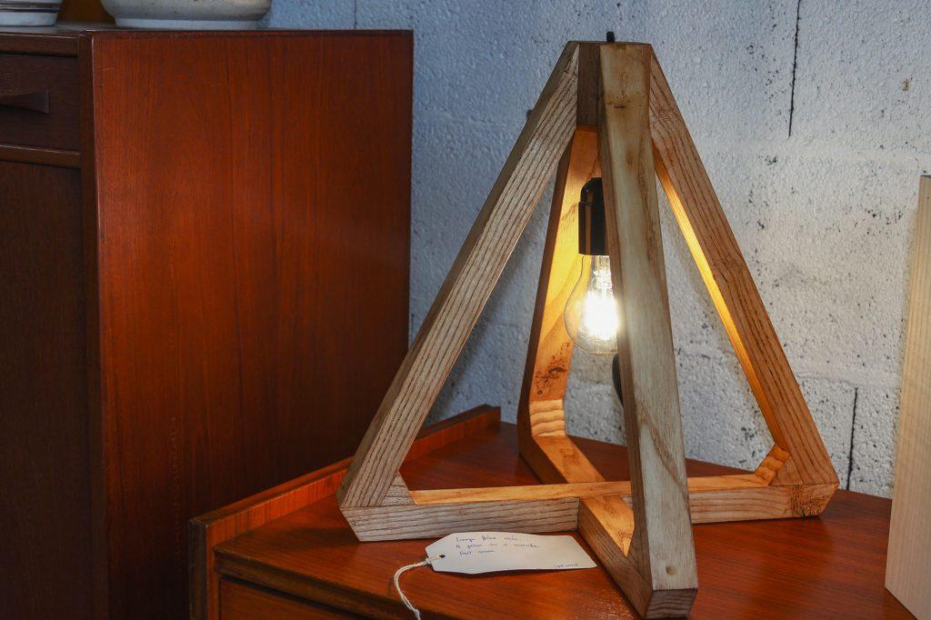 Lampe Quadro Frêne massif